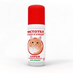 Чистотел Спрей от блох для кошек 100мл