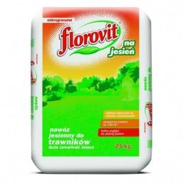 Удобрение гранул для газонов осеннее 25кг.  ФЛОРОВИТ