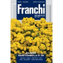 """Семена цветов """"Алисум желтый"""" 30 гр.   Franchi Sementi"""