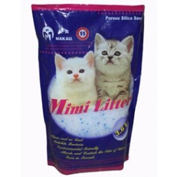Гелевый 3,6 л silica gel cat litter 3.6L