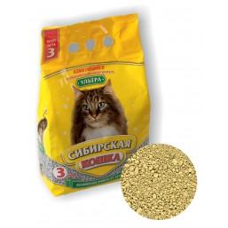 Сибирская Кошка Ультра 3л комкующийся