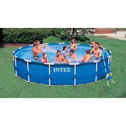 Каркасный сборно-разборный бассейнMetal Frame Pool Intex 56942