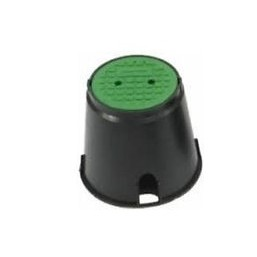 Клапанный короб круглый с крышкой: ДВ х ДН х В = 16х20х24 см Rain Bird VBA02672