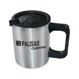 Термокружка с крышкой-поилкой, 450 мл PALISAD Camping 69530