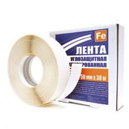 Лента углоформирующая бумажная 50ммх150м с круглой перфорацией 4WALLS 12036