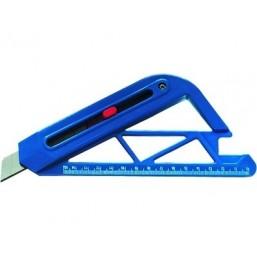 Нож, 18 мм, выдвижное лезвие, для резки обоев SPARTA 789195
