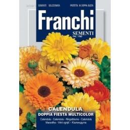 Календула махровая Doppia Fiesta, смесь (3 гр)  DBF 309/1 Franchi Sementi