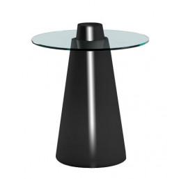 Peak 50 стол со стеклом d-80