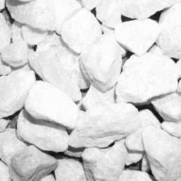 Галька белоснежная-шершавая R (20-30 мм)