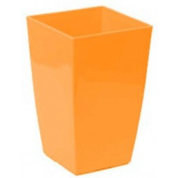 Кашпо Финезия 140х140мм, оранжевый