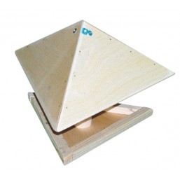 Кормушка для птиц Зонтик деревянная