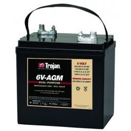 6V-AGM Батарея двойного назначения