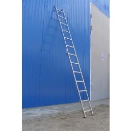 30216000 Ал. лестница 1х10 Н=2,8/3,9м  (5110) Алюмет