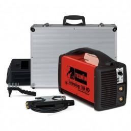 Сварочный аппарат с инвертором Telwin TECHNOLOGY 186 HD+ACC с электродами MMA и TIG