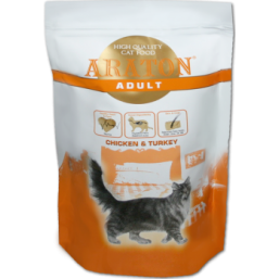ARATON cat adult chicken&turkey 1.5kg   1+0,5  АКЦИЯ