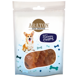 ARATON Snack for dogs chicken cubes 75g