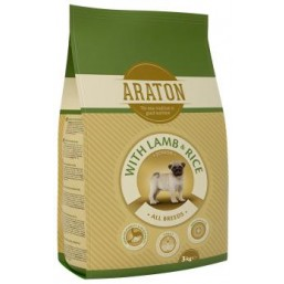ARATON dog junior lamb&Rice 3kg