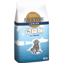 ARATON dog  junior all breeds 15kg