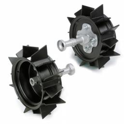 "Комплект металлических колес, 15"", включая 2 оси Viking ARO 600"