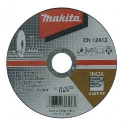 Отрезной диск по металлу 125x22,23x1 B-12239 Makita