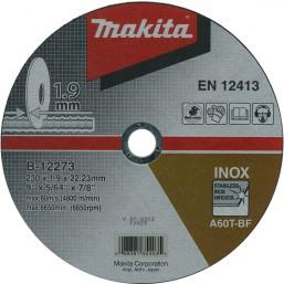 Отрезной диск по металлу 230x22,23x1,9 B-12273 Makita