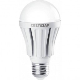 "Лампа СВЕТОЗАР светодиодная ""LED technology"", цоколь E27(стандарт), яркий белый свет (4000К), 220В, 60"