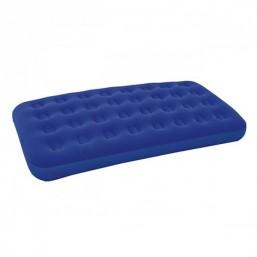 Кровать надувная Bestway Flocked Air Bed Twin Plus ( размер 193х122х22 см, цвет синий, вес 3,33 кг, ремнабор в комплекте)