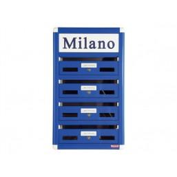 32051010  Почтовый ящик MILAN металлический черный  BG.410.02 Arthis GmbH
