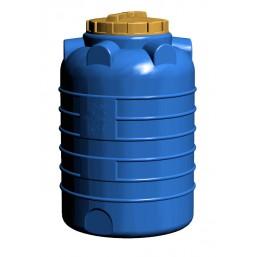 Емкость цилиндрическая вертикальная 300 л, диам 700 мм, выс 1080 мм