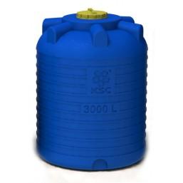 Емкость цилиндрическая вертикальная 3000 л, диам 1520 мм, выс 2050 мм