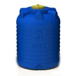 Емкость цилиндрическая вертикальная 2000 л, диам 1320 мм, выс 1760 мм