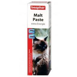 Беафар Паста-Мальт для очищения кишечника кошек20гр