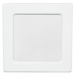 Решетка вентиляционная белая Dospel 17х17