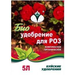 Удобрение биологически активное ограническое  для роз 3 кг.