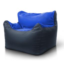 Кресло Boss серый синий