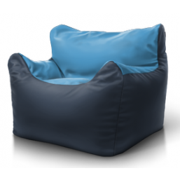 Кресло Boss серый голубой