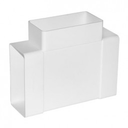 Тройник плоский пластмассовый Эковент 620ТПП