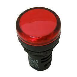 Световой светодиодный индикатор ND16 ND16-22DS/2RED (красн.) Chint