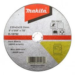 Отрезной диск по металлу 230x22,23x2 D-18792 Makita