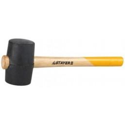 """Киянка STAYER """"STANDARD"""" резиновая, с деревянной рукояткой, 55мм, 0,34кг"""