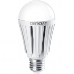 "Лампа СВЕТОЗАР светодиодная ""LED technology"", цоколь E27(стандарт), теплый белый свет (2700К), 220В, 60"