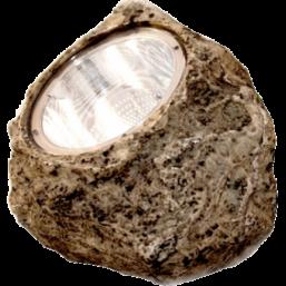 Фонарь Камень коричневый HA07617-4