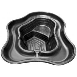 Пруд черный 145*110*50 см (270л)