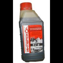 """Масло для 4-х тактных двигателей """"ИНТЕРСКОЛ"""" 1л, полусинтетическое Интерскол в9000445"""