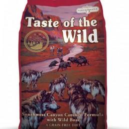 Taste of the Wild Сухой беззерновой корм для собак всех возрастов с Мясом Дикого Кабана 12,73 кг