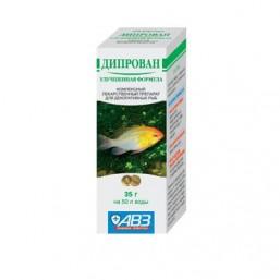 Дипрован препарат для декор. рыб 35 гр   (100)