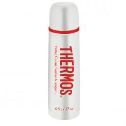 Термос со стальной колбой Flask Classic (объем 0.5 л., цвет белый) 531834