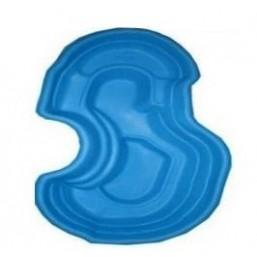 Пруд синий 250*150*60 см (640л)