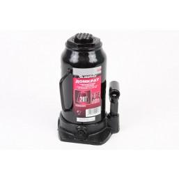 Домкрат гидравлический бутылочный, 20 т, h подъема 242–452 мм MATRIX  50731