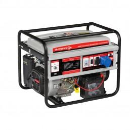 Электростанция бензиновая синхронная ЭБ-6500 Интерскол, 3600об/мин, электростартер, ном 5,5кВт, макс